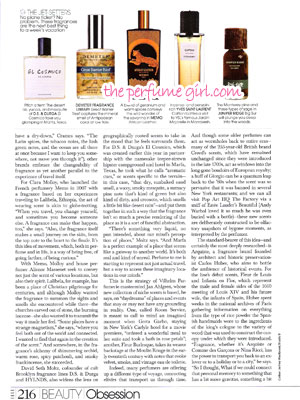 Travel Inspired Perfumes 2 - Elle December 2015