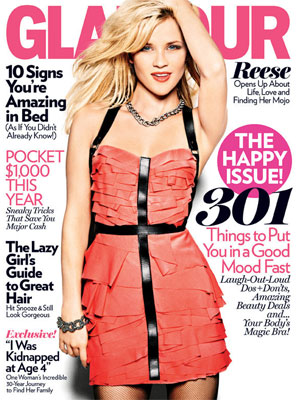 Glamour, January 2011 - Reese Witherspoon