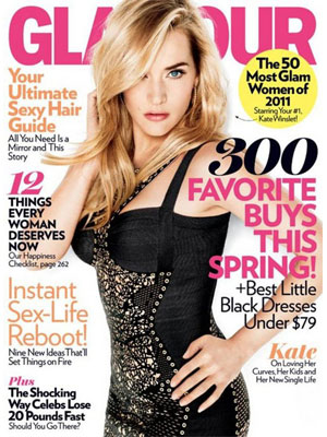 Glamour, April 2011, Kate Winslet