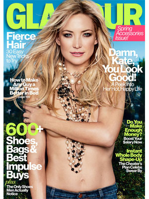 Glamour April 2013 Kate Hudson