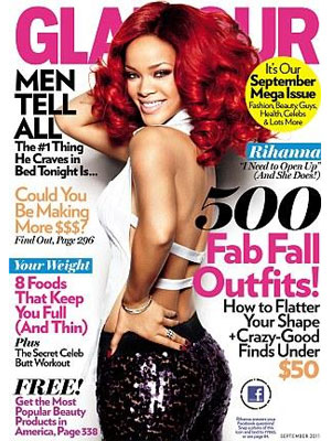 Glamour, September 2011, Rihanna