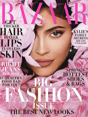 Harper's Bazaar Kylie Jenner March 2020