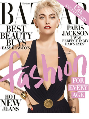 Harper's Bazaar Paris Jackson April 2017