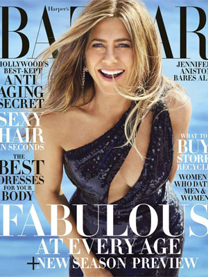 Harper's Bazaar Jennifer Aniston June/July 2019