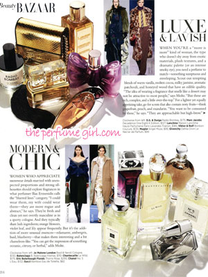 Thierry Mugler Angel Muse Perfume editorial Bazaar Find the Perfect Scent