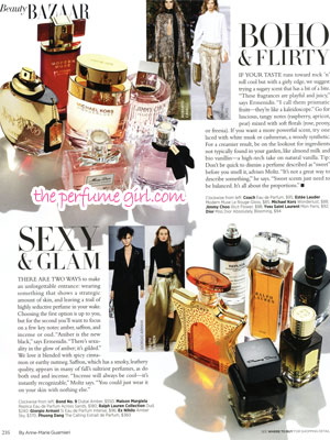 Coach Eau de Parfum Perfume editorial Bazaar Find the Perfect Scent