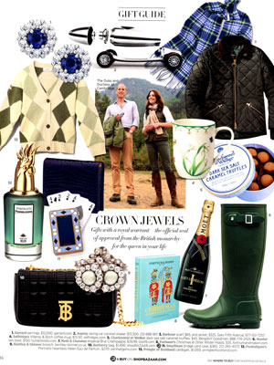 Harper's Bazaar Holiday Gift Guide 3 of 3
