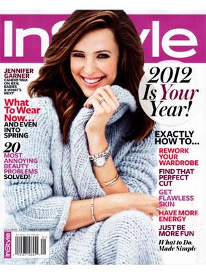 Jennifer Garner, InStyle Magazine, January 2012