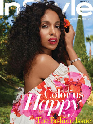 InStyle Kerry Washington March 2020