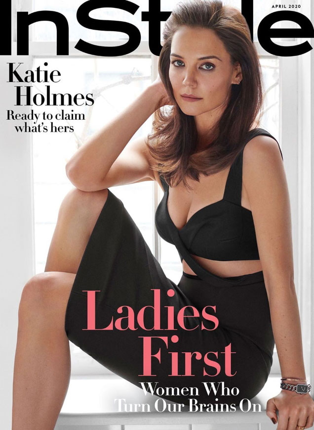 Katie Holmes InStyle April 2020