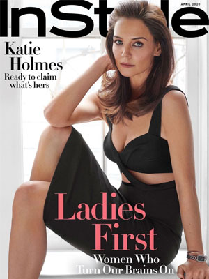 InStyle Katie Holmes April 2020