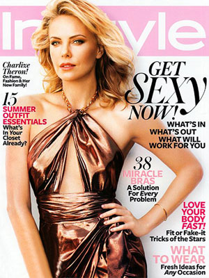 Charlize Theron, InStyle Magazine, June 2012