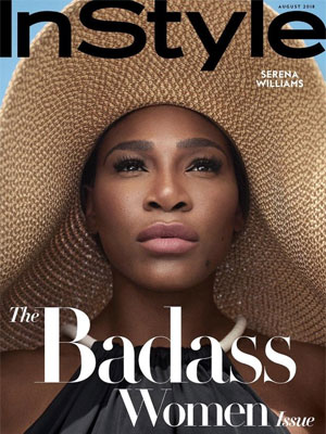 InStyle Serena Williams August 2018