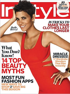 InStyle, November 2012, Halle Berry