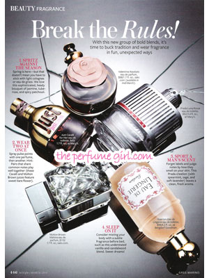 Break the Perfume Rules perfume article