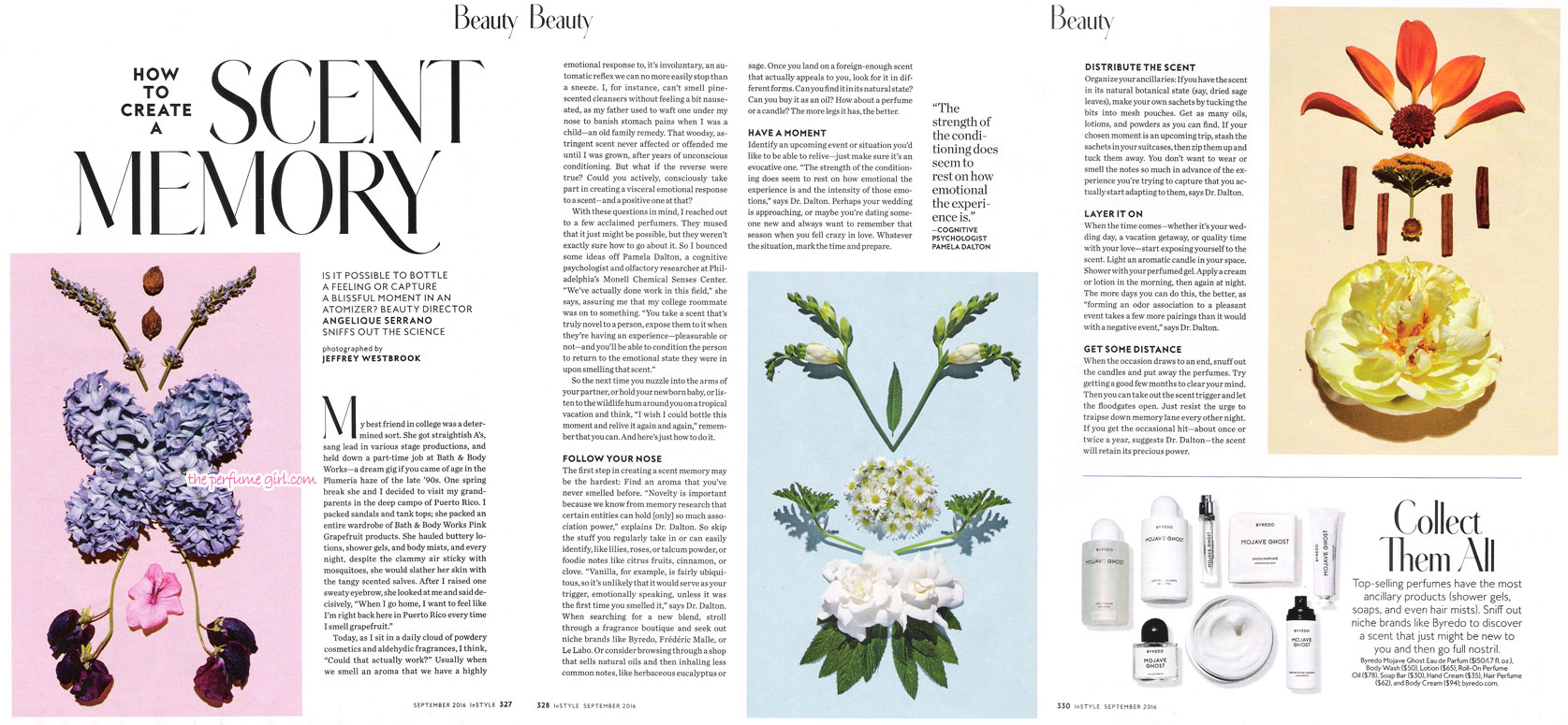 how to create a scent