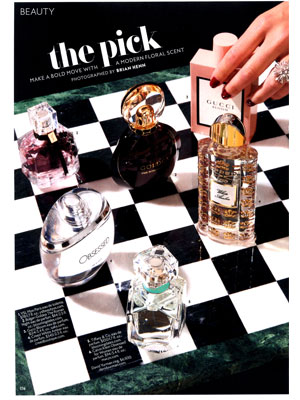 Calvin Klein Obsessed for Women Perfume editorial InStyle Beauty