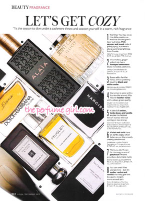 DKNY Liquid Cashmere Black Perfume editorial Warm Rich Fragrances