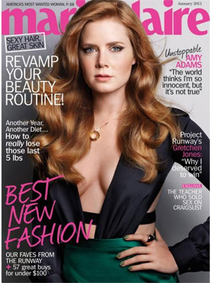 Marie Claire, January 2011 - Amy Adams