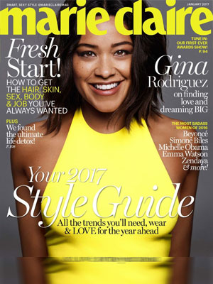 Marie Claire Gina Rodriguez January 2017