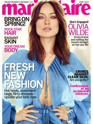 Marie Claire April 2013 Olivia Wilde