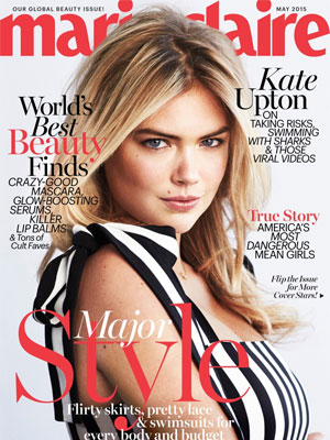 Kate Upton Marie Claire Magazine May 2015