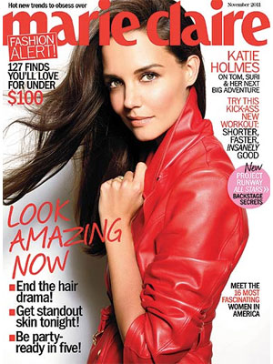 Marie Claire, November 2011, Katie Holmes