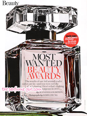 Most Wanted Beauty Awards - Marie Claire October 2015