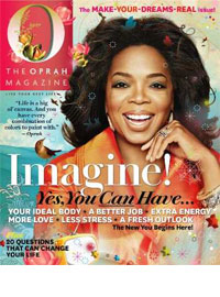 Oprah Magazine, Feb 2011