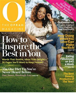 Oprah Magazine, Apr 2011