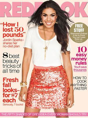 Redbook, September 2012, Jordin Sparks