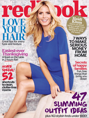 Heidi Klum Redbook Magazine November 2015