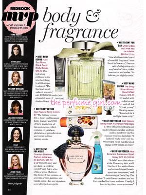 May 2012 Magazine Perfume Ads Fashion Fragrances, Perfume