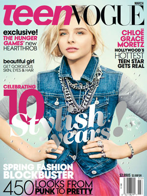 Teen Vogue March 2013 Chloe Grace Moretz