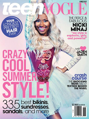 Teen Vogue July 2013 Nicki Minaj