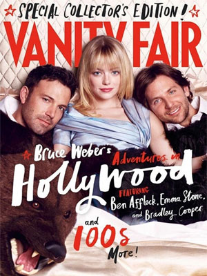 Vanity Fair March 2013 Ben Affleck, Emma Stone, Bradley Cooper