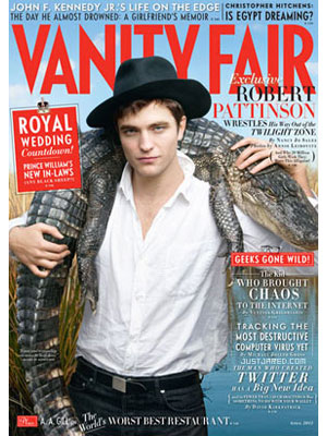 Vanity Fair, Apr 2011, Robert Pattinson