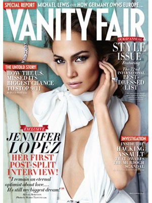 Vanity Fair, September 2011, Jennifer Lopez