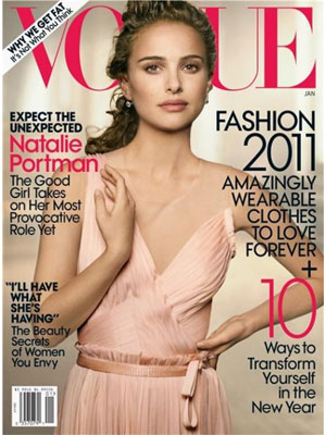 Vogue, January 2011 - Natalio Portman