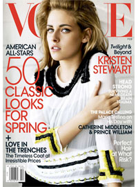 Vogue Magazine, Feb 2011, Kristin Stewart