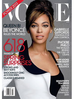 Vogue March 2013 Beyonce