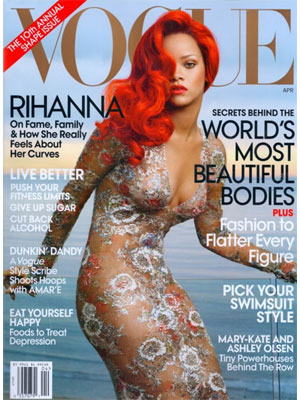 Vogue, April 2011, Rihanna