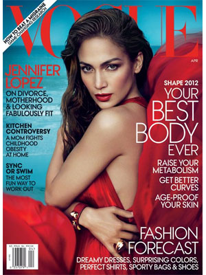 Vogue, April 2012, Jennifer Lopez