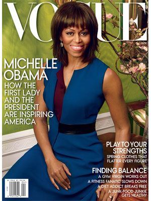 Michelle Obama Vogue Magazine, April 2013