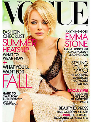 Emma Stone Vogue Magazine, July 2012