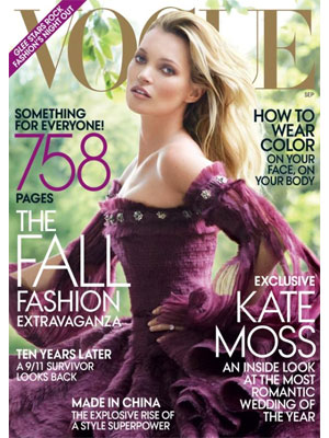 Vogue, September 2011, Kate Moss