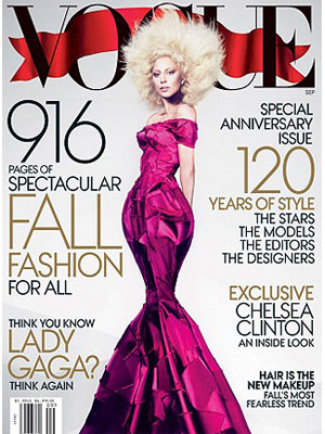 Vogue, September 2012, Lady Gaga