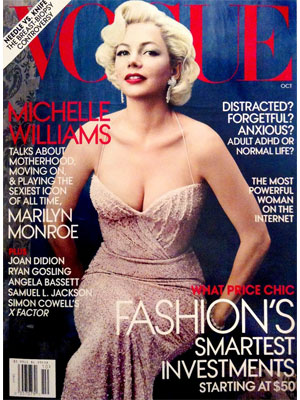 Vogue, October 2011, Michelle Williams