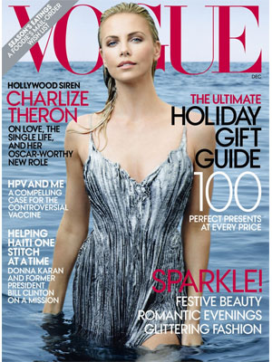 Vogue, December 2011, Charlize Theron